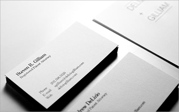 delizio+gilliam business cards